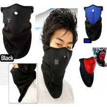 3 Pcs/Lot Ski Mask Cycling Face Cover Fleece Warm Bike Half Face Mask Hood Protection Ski Sports Outdoor Winter Neck Guard Scarf(China)