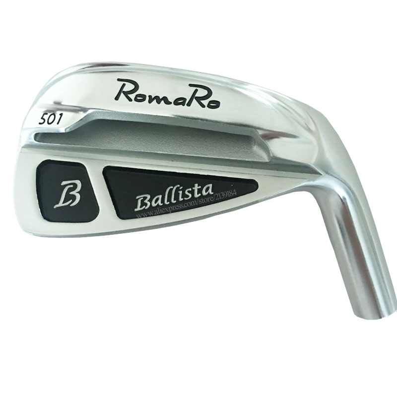 Cooyute New Men Golf Head  ROMARO 501 Golf Irons 4-9P Clubs Heads Set No Golf Shaft Free Shipping