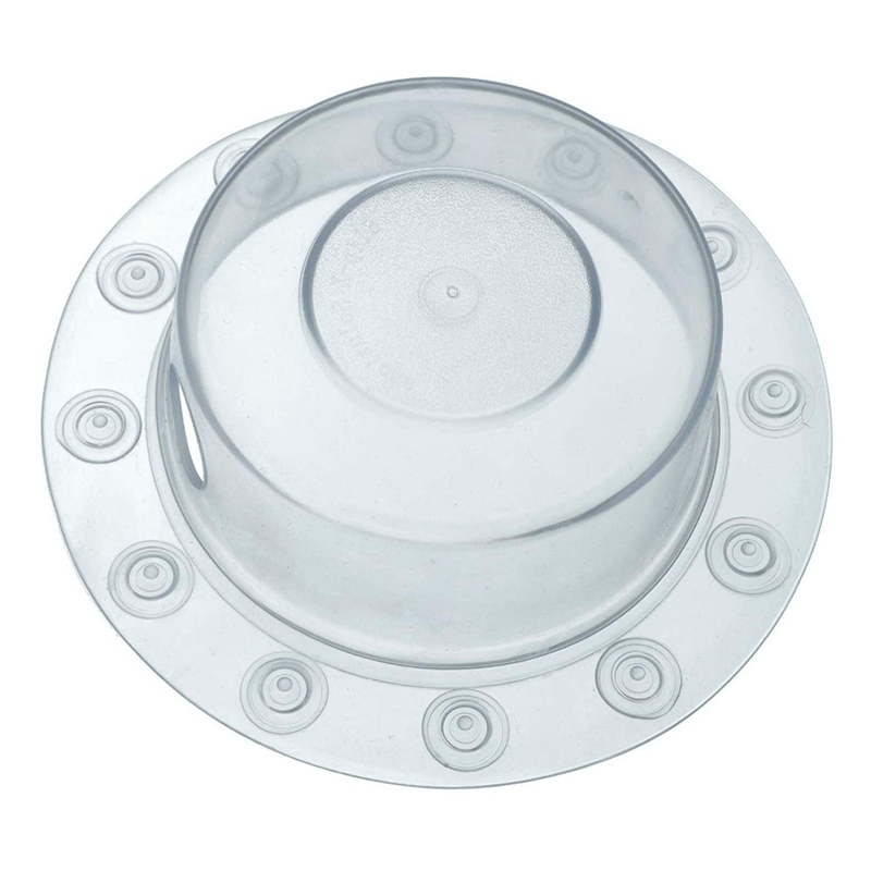 Easy Clean Lightweight Hygienic Bottomless Bath Bathtub Overflow Drain Cover Soft Spa-Like Experience Home Large Adds Water