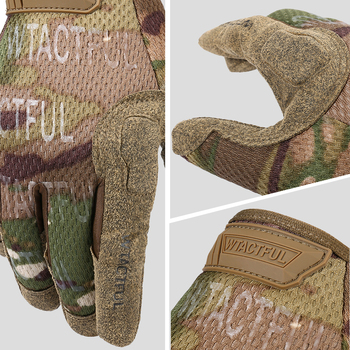 Tactical Army Long Gloves Breathable Military Paintball Airsoft shooting Combat Full Finger Glove Men Women Lightweight Black 3