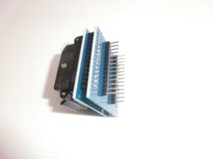 Image 2 - Ücretsiz kargo Evrensel IC adaptör soketi LQFP TQFP QFP 32 DIP 28 TQFP32 QFP32 to DIP28 IC Adaptörleri ATMEL AVR Çipleri
