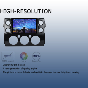 "Image 4 - 9"" Android 10.0 Car Multimedia Player for Toyota FJ Cruiser 2007 2010 2011 2012 2015 2016 DSP 4GB+64GB Radio GPS Navigator"