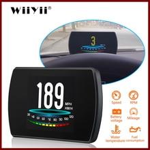 GEYIREN medidor Digital de velocidad OBD P12 para coche, OBD2, multifunción, diagnóstico automático, herramienta de error de código de velocidad