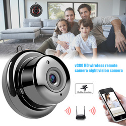 Wireless Wifi Camera Night Vision 1080P Loop Recording Motion Detection for Home Office ND998