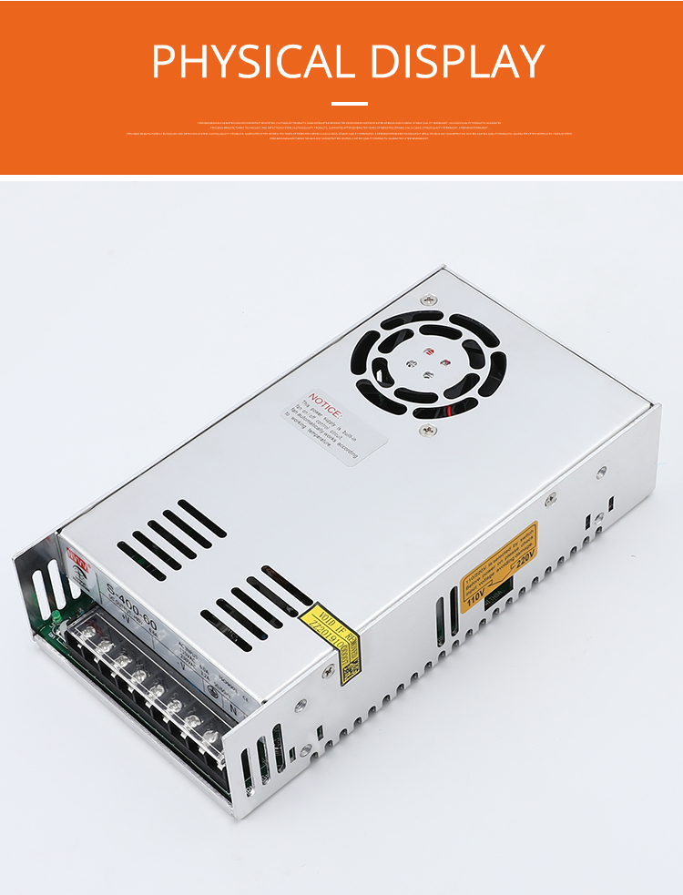 Hc79cc58eb9464cacade21478a558c611D - NVVV switching power supply 15 w-400 w ac110/220v dc 5v 12 v 24 v 36 v 48 v60 v dc power supply (400w60v6.7a for RD6006)