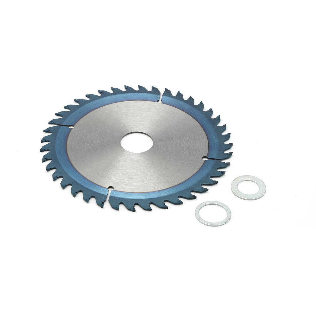 Blue Nano-Coating Woodworking Saw Blade Circular High Speed Steel Tipped Wood Cutting Discs Carbide Saw Blade 40T/60T