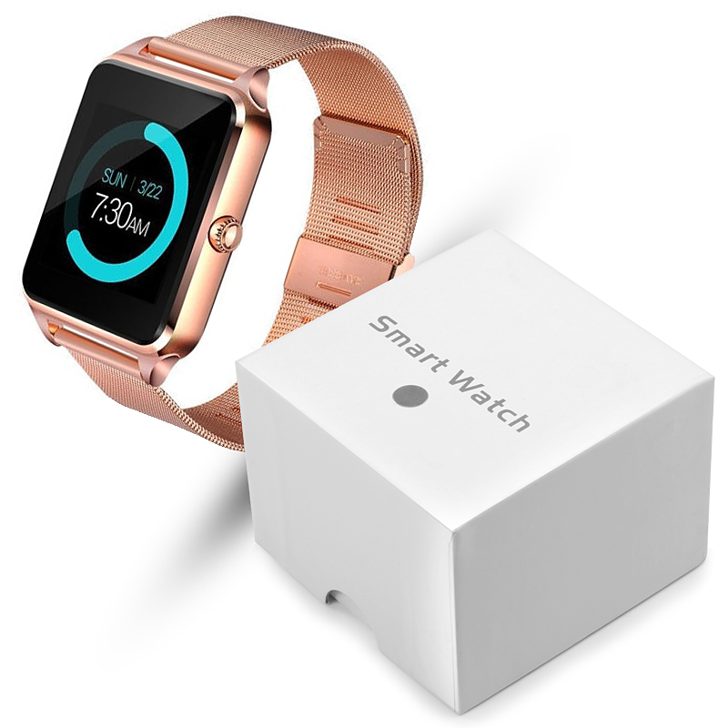Z60 Smart Watch GT08 Plus Metal Clock With Sim Card Slot Push Message Bluetooth Connectivity Android IOS Phone Smartwatch PK A1