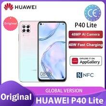 Глобальная версия Huawei P40 lite/lite E 6 + 128 Гб Смартфон 48MP AI камеры 6,4 ''FHD Kirin810 Octa Core 40 Вт QC смартфоны