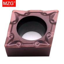 MZG Herramientas de torneado exterior, MZG, Envío Gratis, precio de descuento, CCMT060204, CCMT09T304, 08 TM, herramientas de corte CNC, insertos de carburo