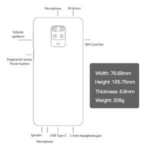 Image 4 - متوفر شاومي ريدمي نوت 9 S 4GB 64GB النسخة العالمية الهاتف الذكي سنابدراجون 720G ثماني النواة 5020 mAh 48MP كاميرا رباعية نوت 9 S