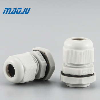 Free Shipping Waterproof Cable Gland 10pcs Cable entry Strain Relief Cord Grip IP68 PG9 PG13.5 M12 M20 White Black Nylon white 10pcs ip68 m12 for 3 6 5mm pg7 m16 m18 m20 m25 m36 m40 m63 wire cable ce waterproof nylon plastic cable gland connector