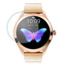 3 adet TPU yumuşak şeffaf koruyucu film koruma tutmak için mi KW10 akıllı saat kadın Smartwatch ekran koruyucu kapak koruma