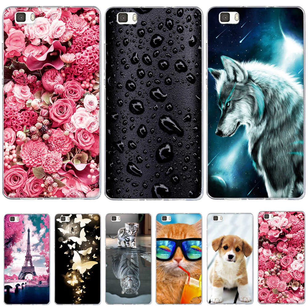 Case For Coque Huawei P8 Lite Case Cover Silicone For Capas Huawei P8 Lite 2016 ALE-L21 Case Funda For Huawei P8 Lite 2015 Cover