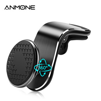 ANMONE Universal Magnetic Car Phone Holder For Mobile Phone Support Phone Mount Stand For Tablets and Smartphones 1