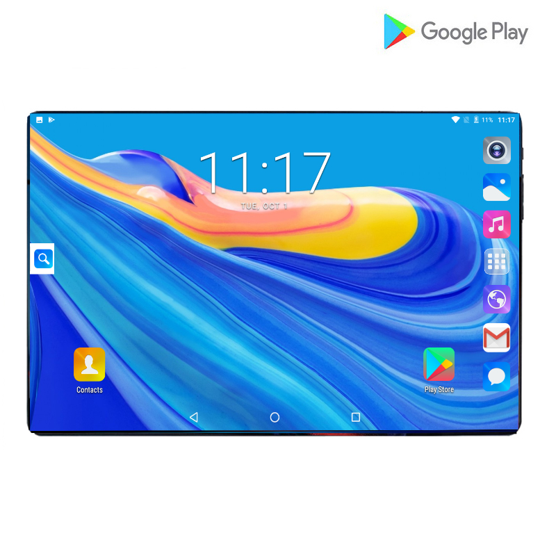 2020 globale Version <font><b>10</b></font> zoll <font><b>tablet</b></font> PC 6GB RAM 128GB ROM 1280*800 IPS Dual SIM Karte 4G LTE FDD Wifi Android 9.0 <font><b>tablet</b></font> <font><b>10</b></font>,1 + Geschenke image