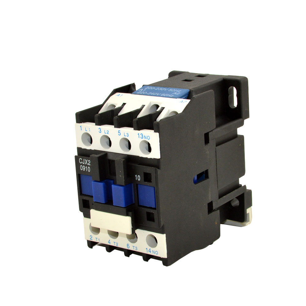 CJX2 110V AC Contactor 3 Phase 3 Pole NO Coil Voltage 9A 12A 18A 25A 32A 40A 50A 65A 80A 95A 50 60Hz 3P 1NO Coil AC Contactor in Contactors from Home Improvement