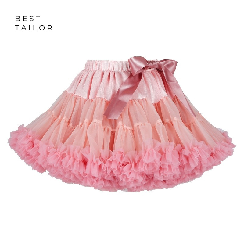 Little Girls Swing Petticoat Tutu Petticoat Puff Swishy Underskirt Wedding Accessories Marriage Infant Baby Flower Girl Birthday