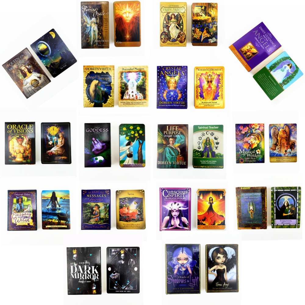 2020 New Oracle Tarot Cards Life  Purple  Oracle Card Board Deck Games Palying Cards Game Entertainment
