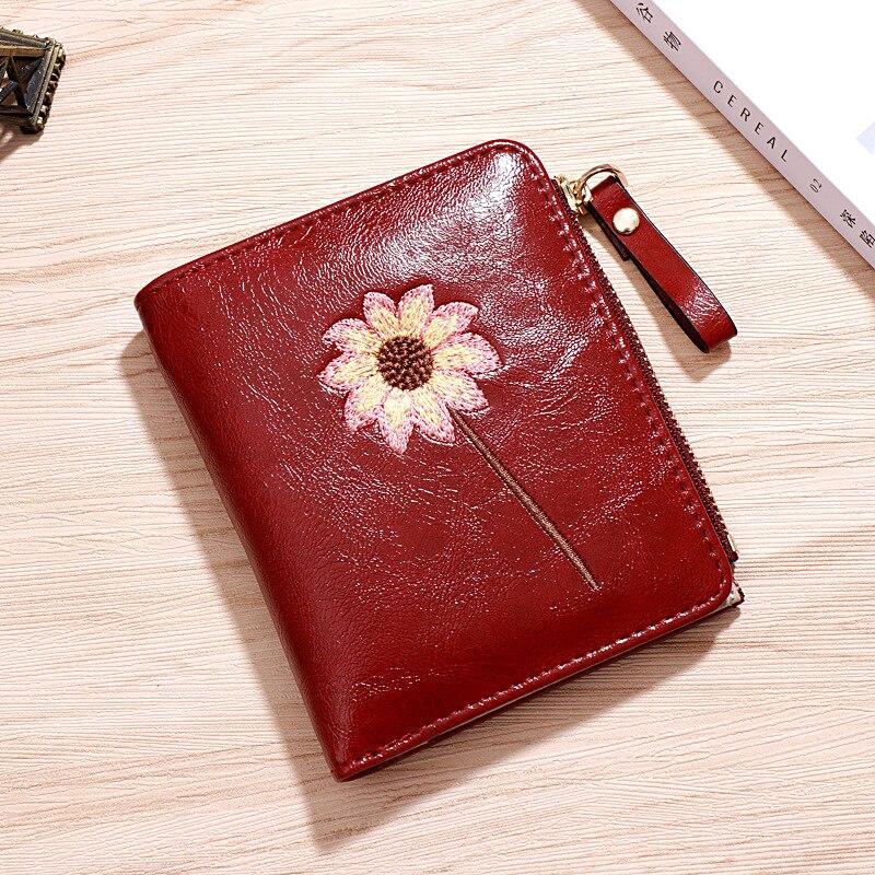 Women Wallet Slim Wallet Luxury Brand Wallets Small Purse Women Leather Pursese Top Selling Designer Wallets Moda Mujer 2019