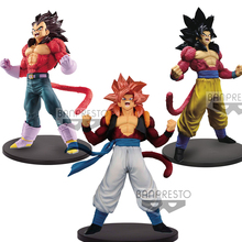 Tronzo Original Banpresto Dragon Ball GT Blood of Saiyan BOS Goku Vegeta Gogeta SSJ4 PVC Action Figure Collection Model Toys