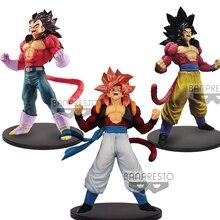 Tronzo Originele Banpresto Dragon Ball GT Bloed van Saiyan BOS Goku Vegeta Gogeta SSJ4 PVC Action Figure Collection Model Speelgoed