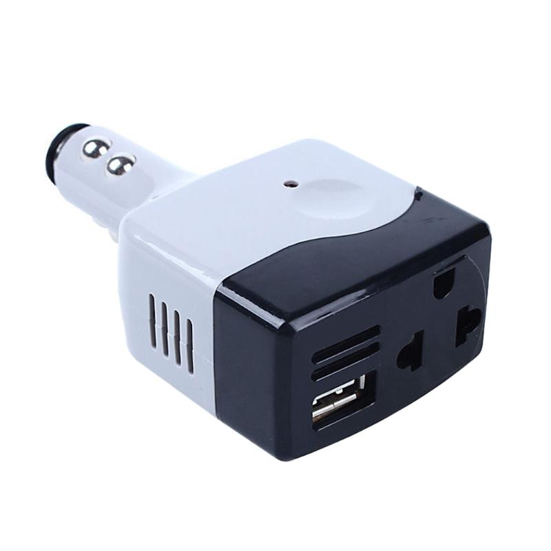 Car inverter DC 12-24V to AC 220V Voltage Power Convertidor USB Charger Auto Car Voltage Inverters Car Electronics Accessories