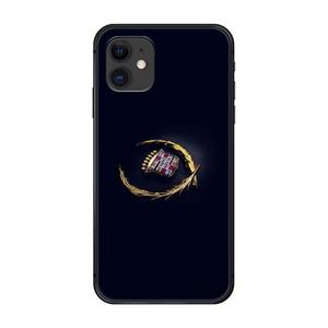 Американский роскошный автомобильный бренд Cadillac, чехол для телефона, корпус для iphone 5 5s se 2 6 6s 7 8 plus X XS XR 11 PRO MAX, черный мягкий корпус