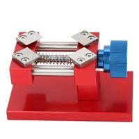 Vise Clamp Screw Adjustable Aluminium Alloy Universal Nutcracker Table Watch Repair Tool DIY Clock Sculpture Mini Jaw