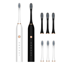 2021 Sonic Electric Toothbrush For Adult Smart Timer USB Rechargeable Whitening Tooth Brush Dental 4 Brush Heads