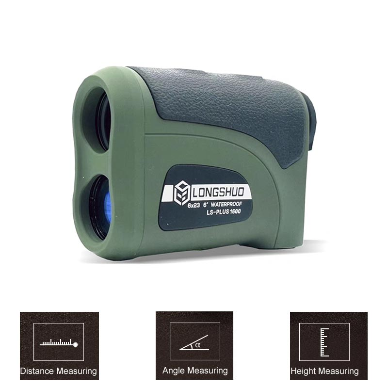 800M-2000M Waterproof and Battery Powered Laser Rangefinder with LCD Display 1