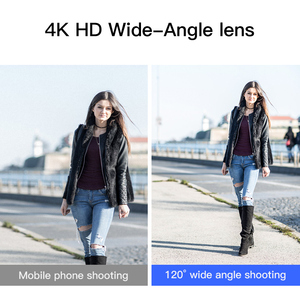 Image 5 - KUULAA 4K HD Cell Phone Camera Lens Kit 3 in 1 Wide Angle lens Macro Fisheye Lenses For iPhone 11 Pro Max Huawei P20 Pro Samsung