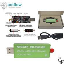 RTL SDR receiver RTL2832 SDR USB dongle with 0.5ppm TCXO SMA S300U New Generation S300U aotflow