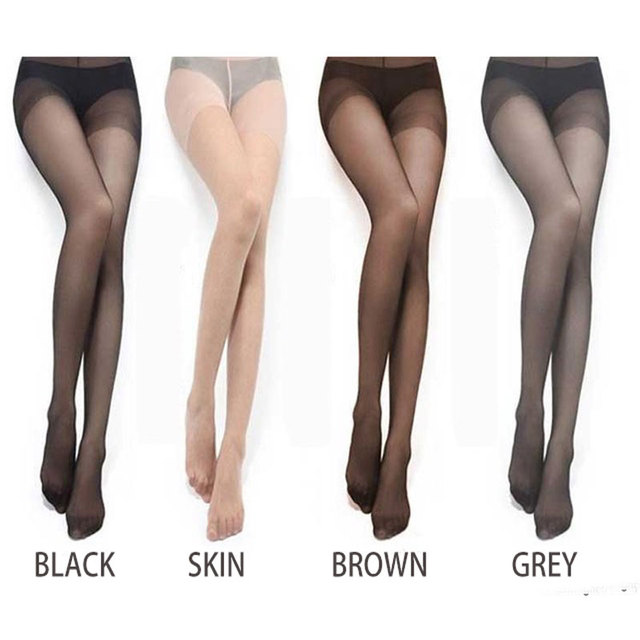 Medias Panties lady Stocking Solid Fashion Summer Women's Sexy Thin Tights Panties Pantyhose Long Thin Stockings medias panties