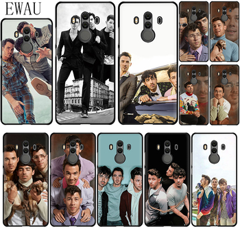 EWAU Jonas Brothers Silicone phone case for Huawei Y6 Y7 Y9 Prime Mate 10 20 30 Lite Pro image