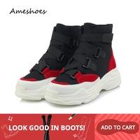 2019 Fashion Women Ankle Boots Sneakers Sock Boots High Heels Slip On Ladies Boots Bota Feminina