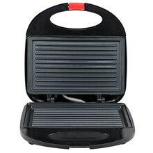 Электрический яйцо сэндвич-мейкер мини гриль Panini выпечки плиты тостер многофункциональная антипригарная вафельная машина для завтрака UK Plug