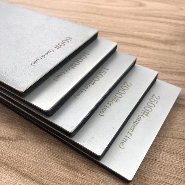 170*75MM Diamond Knife Sharpener Sharpening Stone Grit 80-3000# Grindstone Diamond Tools Fine Grinding Whetstone Kitchen Knives 2