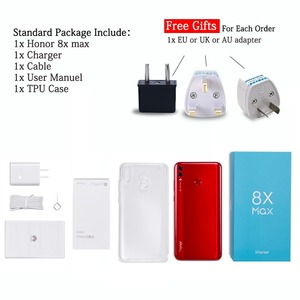 Image 4 - Original HONOR 8X Max Mobile Phone 4GB/6GB RAM 64GB/128GB ROM Octa Core 7.12 inch big Screen OTA Update Android 8.1 5000mAh