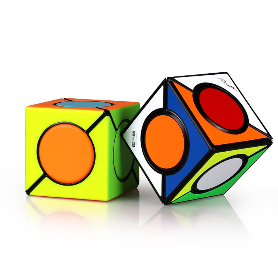 Qiyi New 2x2 Strange-shape Magic Cube Speed Cube Professional Cubo Magico Puzzle Toy For Children Kids Gift Classic Toys