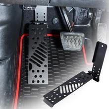 Pedale morto automatico per Auto in metallo poggiapiedi laterale sinistro regolabile pedale pannello pedale per Jeep Wrangler JL gulrubicon 2018 2020