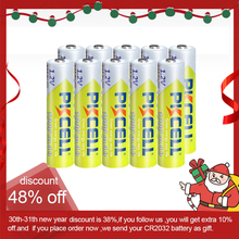 10 個pkcell 1.2vニッケル水素aaaバッテリー 3A 1000 aaa充電式バッテリーaaaニッケル水素バッテリー電池のためのrechargea懐中電灯のおもちゃ