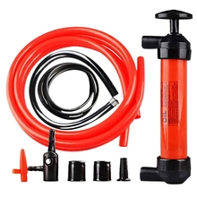 Car Manual Oil Pump Household Pumping Pipe Manual Oil Pump Car Accessories for Automobile Motorcycle