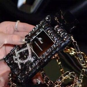 Image 5 - Luxo bling cristal diamante correia para iphone 11 pro max x xr xs max 6s 7 8 plus para samsung s8 s9 s20 s10 caso de telefone