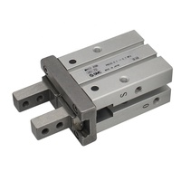 MHZL2 20D Pneumatic Clamp Gripper SMC Metal Double Acting Penumatic Cylinder Parallel opening and closing type