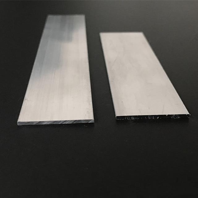 Aluminium Flat Bar 25mm x 6mm x 300mm long 6060-T5