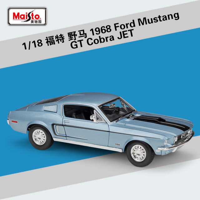 Currently equipped with big block 428 ci engine. Maisto 1 18 Skala Ford Mustang 2020 Shelby Gt500 1967 Gta Fastback 1968 Gt Jet Cobra 2015 2017 Ford Gt Mobil Model Logam Paduan Mainan Diecasts Toy Kendaraan Aliexpress
