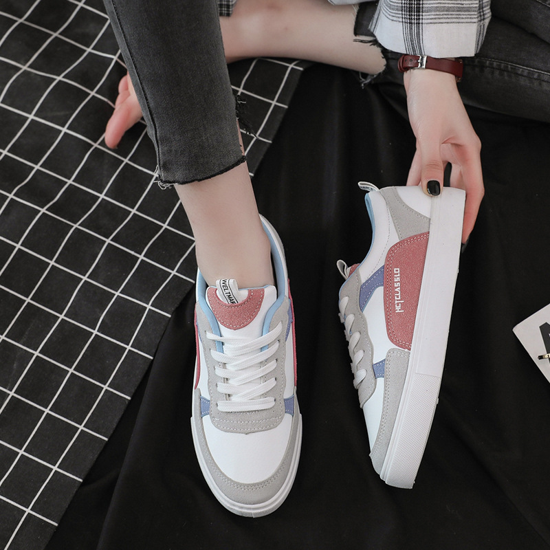 2019 Spring And Autumn New Style Flat Shoes Harajuku Ulzzang Board Shoe Students Korean-style Versatile CH