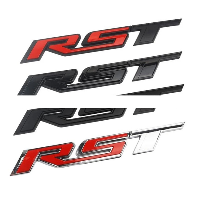 Primera cartas emblema para Chevrolet Silverado estilo de coche insignia para la plataforma trasera Pickup adhesivo para maletero 1500, 2500, 3500, 4500, 5500, 2019 2021