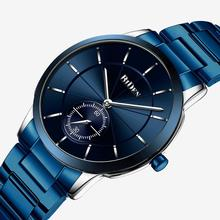 Fashion Men Watches BIDEN Brand Casual Bussiness Minimalism Man's Watch Stainless Steel Quartz Male Clock nary brand blue face watches man watch stainless steel casual japanese quartz wristwatches male clock men s fashion watch