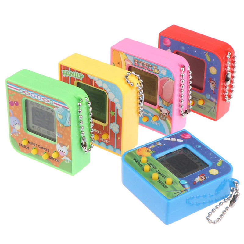 New 90S Nostalgic 168 Pets Virtual Cyber Pet Toy Tamagotchi Electronic Pets Toys